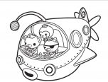 Octonauts Coloring Pages With Octonauts Coloring Pages 152x116