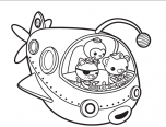 Octonauts Tweak Coloring Pages 152x116