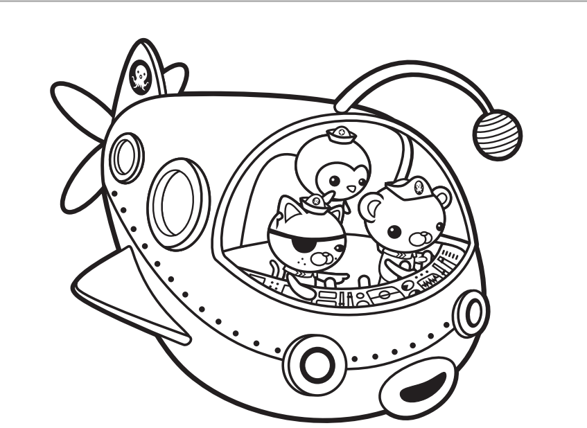 Octonauts Coloring Pages | Free Printable Online Octonauts ...