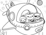 Octonauts coloring pictures for kids 152x116