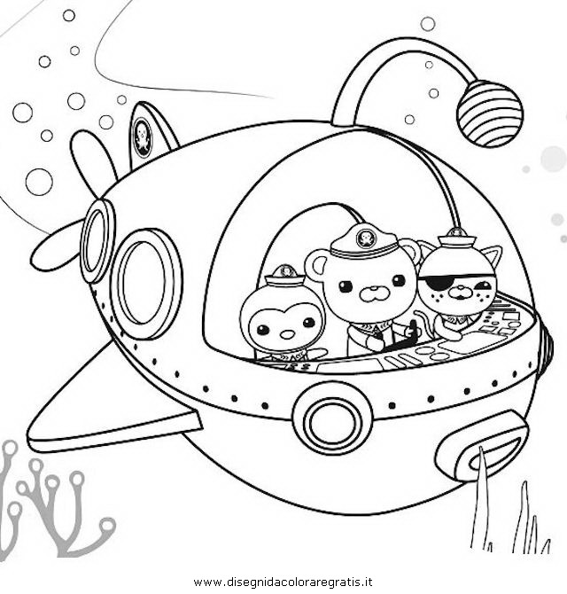 Octonauts Coloring Pictures For Kids Only Coloring Pages