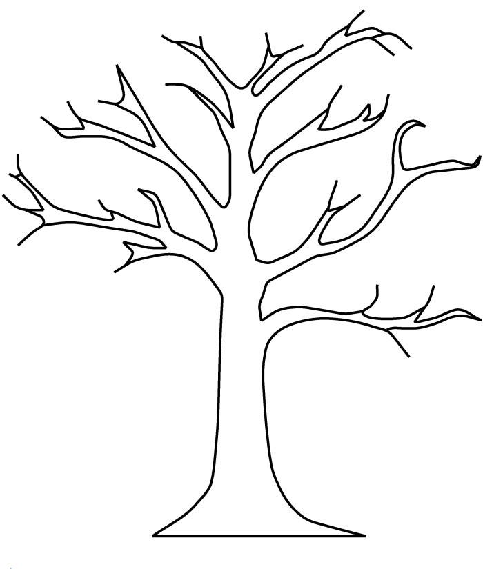 Tree Coloring Pages 16