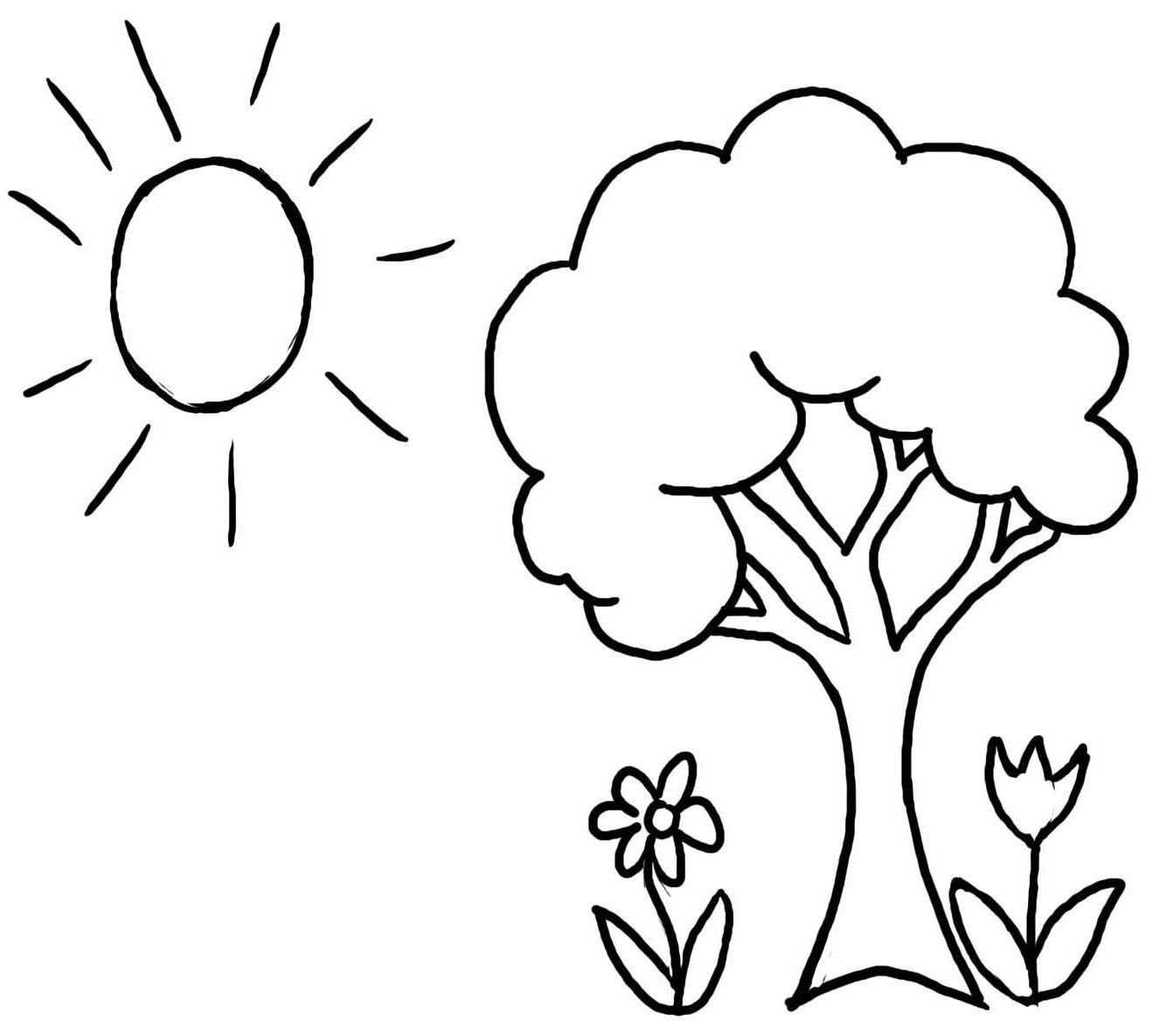 Tree Coloring Pages 22