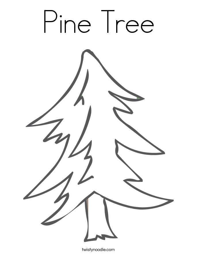 Tree Coloring Pages 25