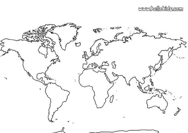 World_Map_Coloring_Pages_01