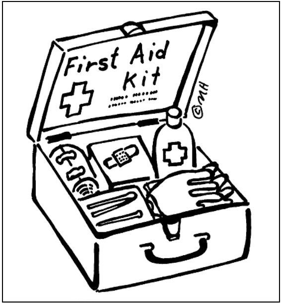 free printable first aid coloring pages