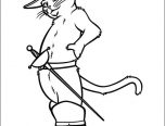 puss n boots coloring pages