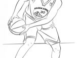 seth curry coloring pages