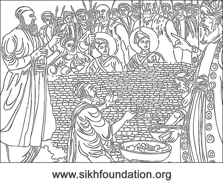 sikh coloring pages