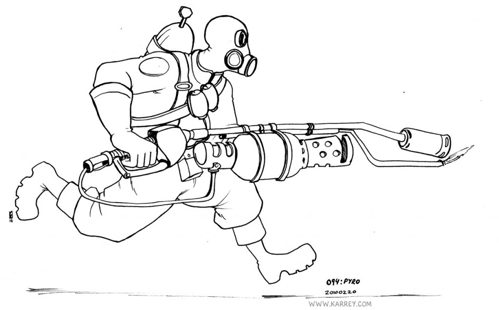 tf2 coloring pages