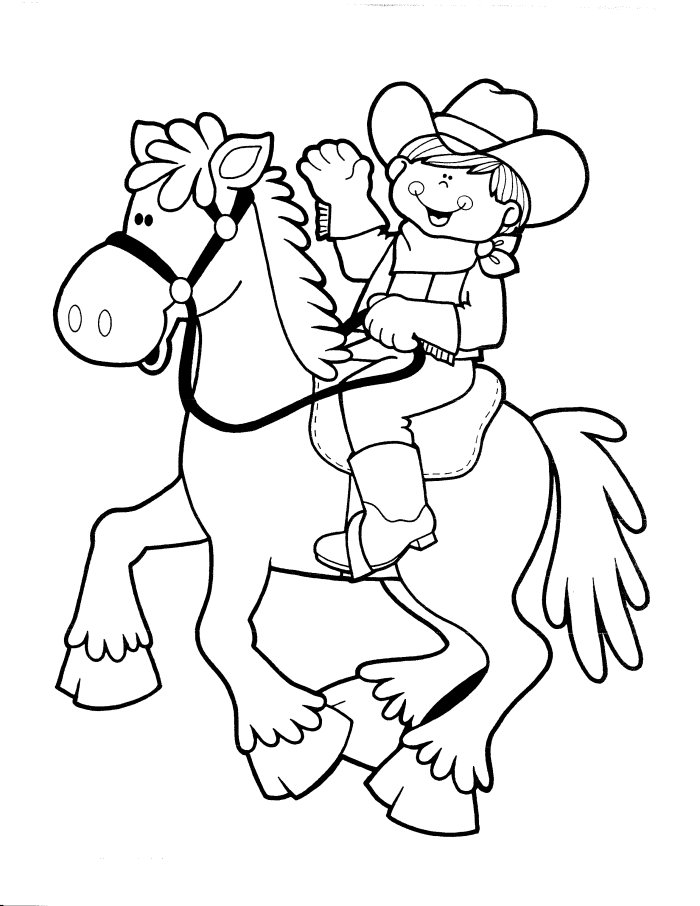 western-themed-coloring-sheets
