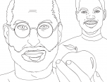 chance the rapper coloring pages