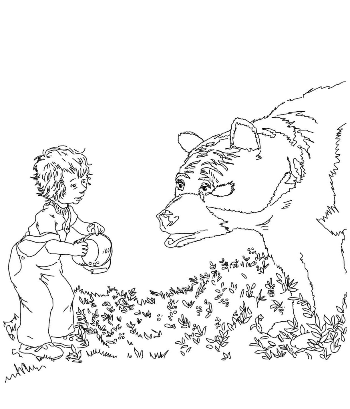 blueberries for sal coloring pages e1529842391209