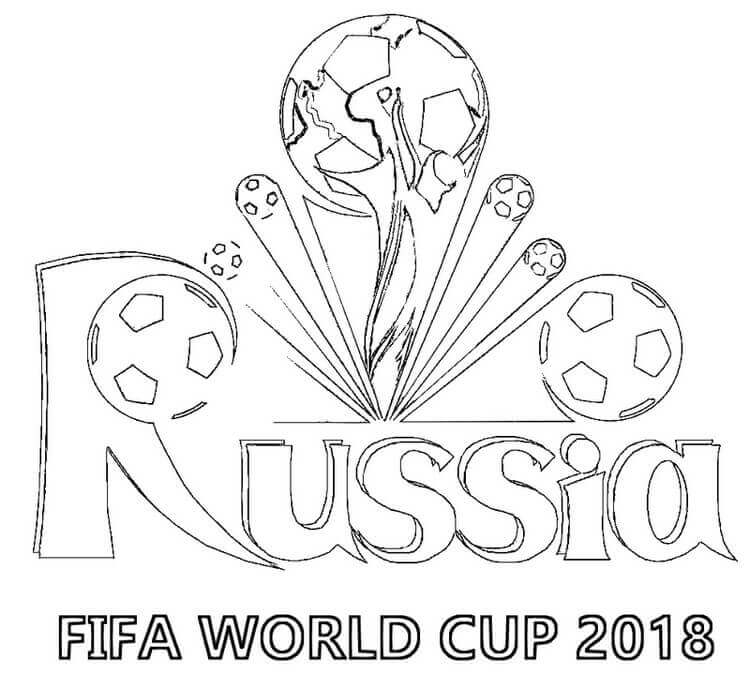 world cup, World, russia, pages, kids, fifa 2018, fifa, coloring, 2018