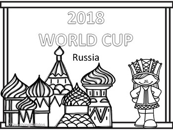 wcup, russia, pages, coloring, 2018