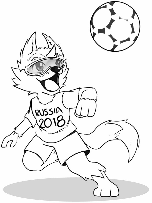 world cup 2018 coloring pages to print out free