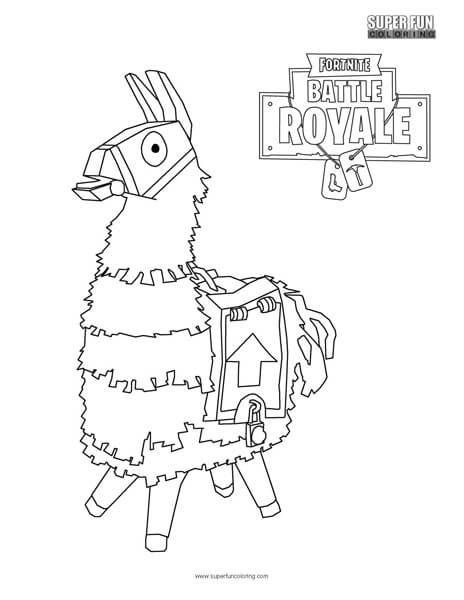 Fortnite4 Free Coloring Pages Printable For Kids And Adults