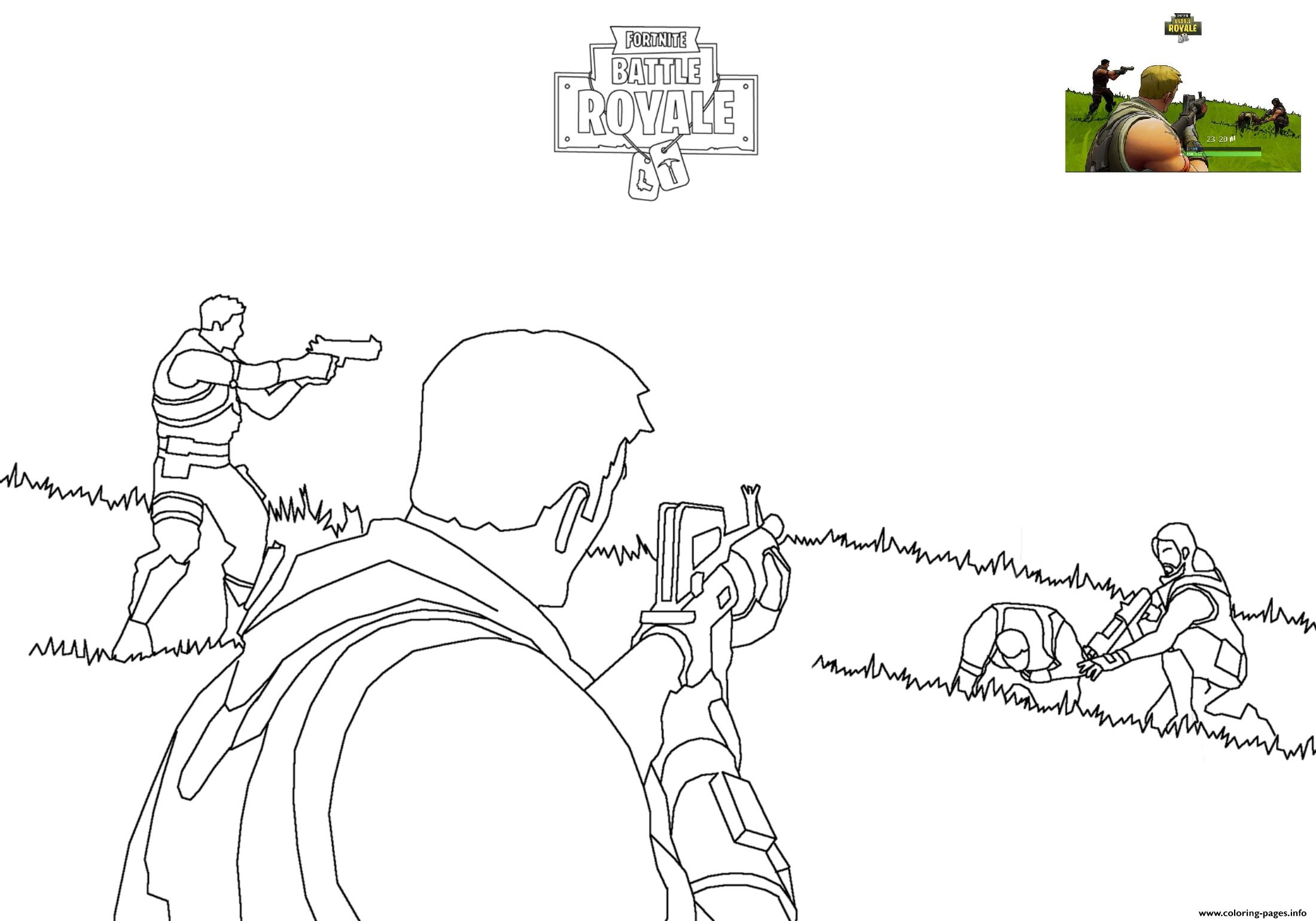 Fortnite8 Free Coloring Pages Printable Coloring Pages Only