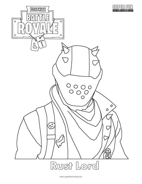 FORTNITE9 Free coloring pages printable for kids and adults