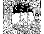 forest coloring pages amazing 152x116