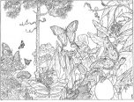 forest coloring pages new 152x116
