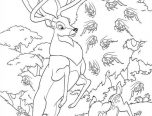 forest coloring pages printables 152x116