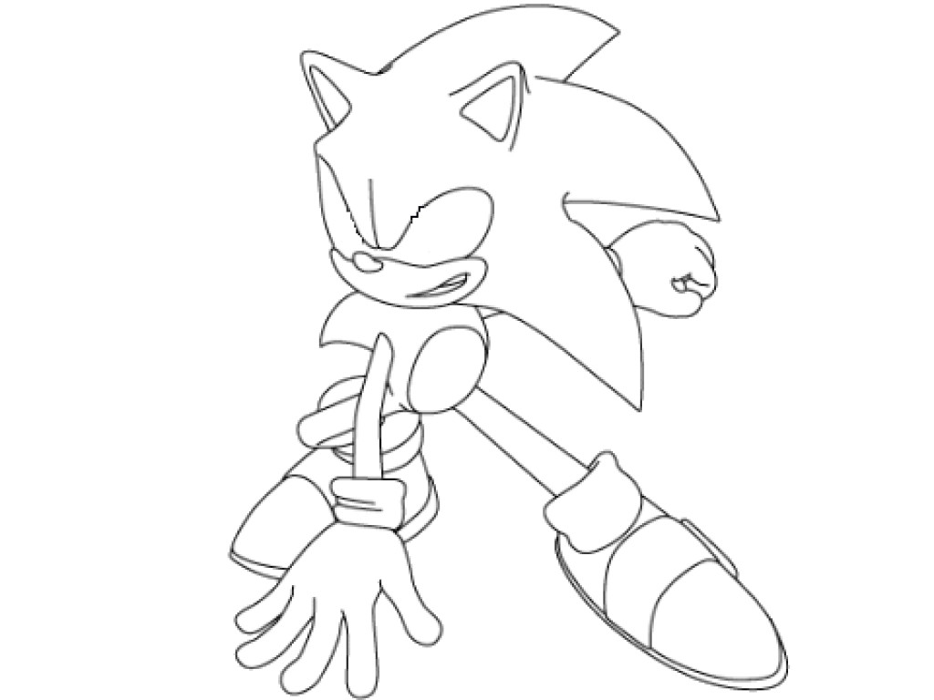 Sonic Coloring Pages Free coloring pages printable for