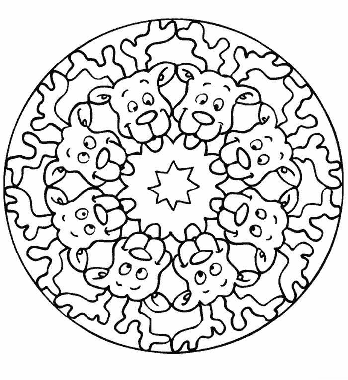 printable xmas mandala coloring pages e1543101879573