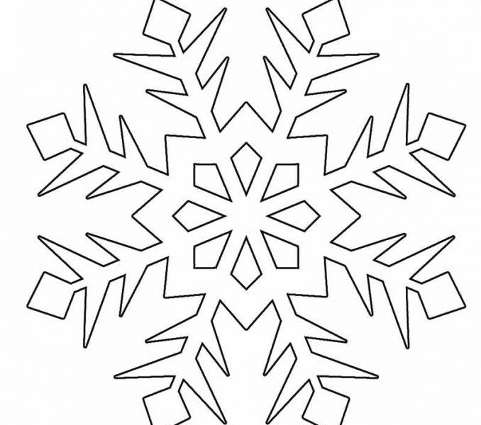 snowflake coloring page printable snowflake coloring pages for kids