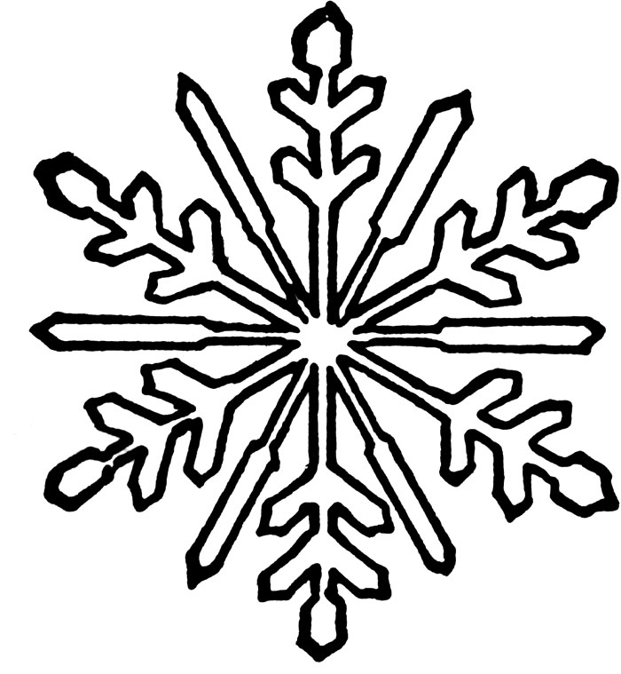 snowflake coloring pages fresh snowflake colouring pages