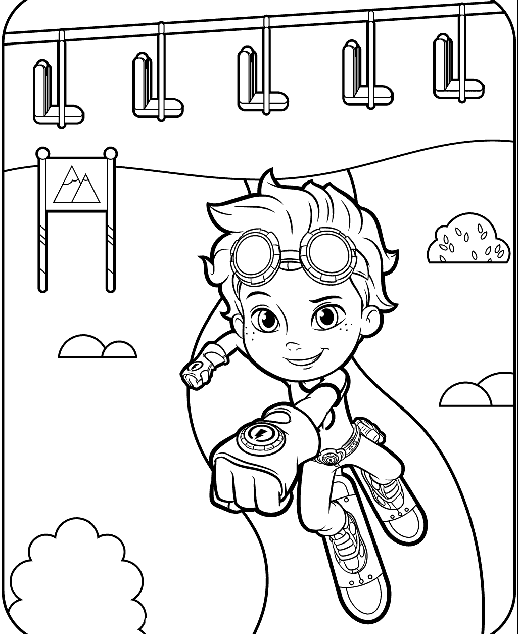 492834039824 Rusty Rivets Coloring Pages for Kids e1543891058904