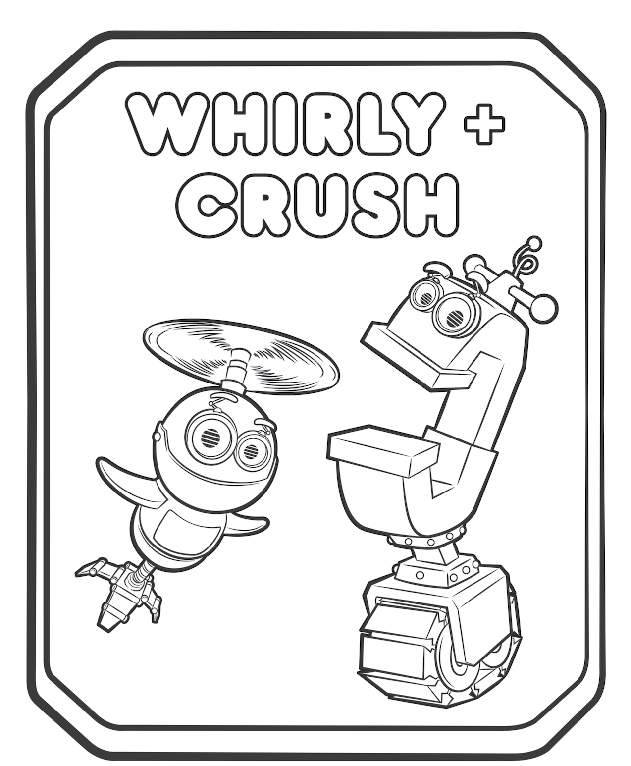90589058345 Rusty Rivets Whirly and Crush Coloring Pages e1543891076110