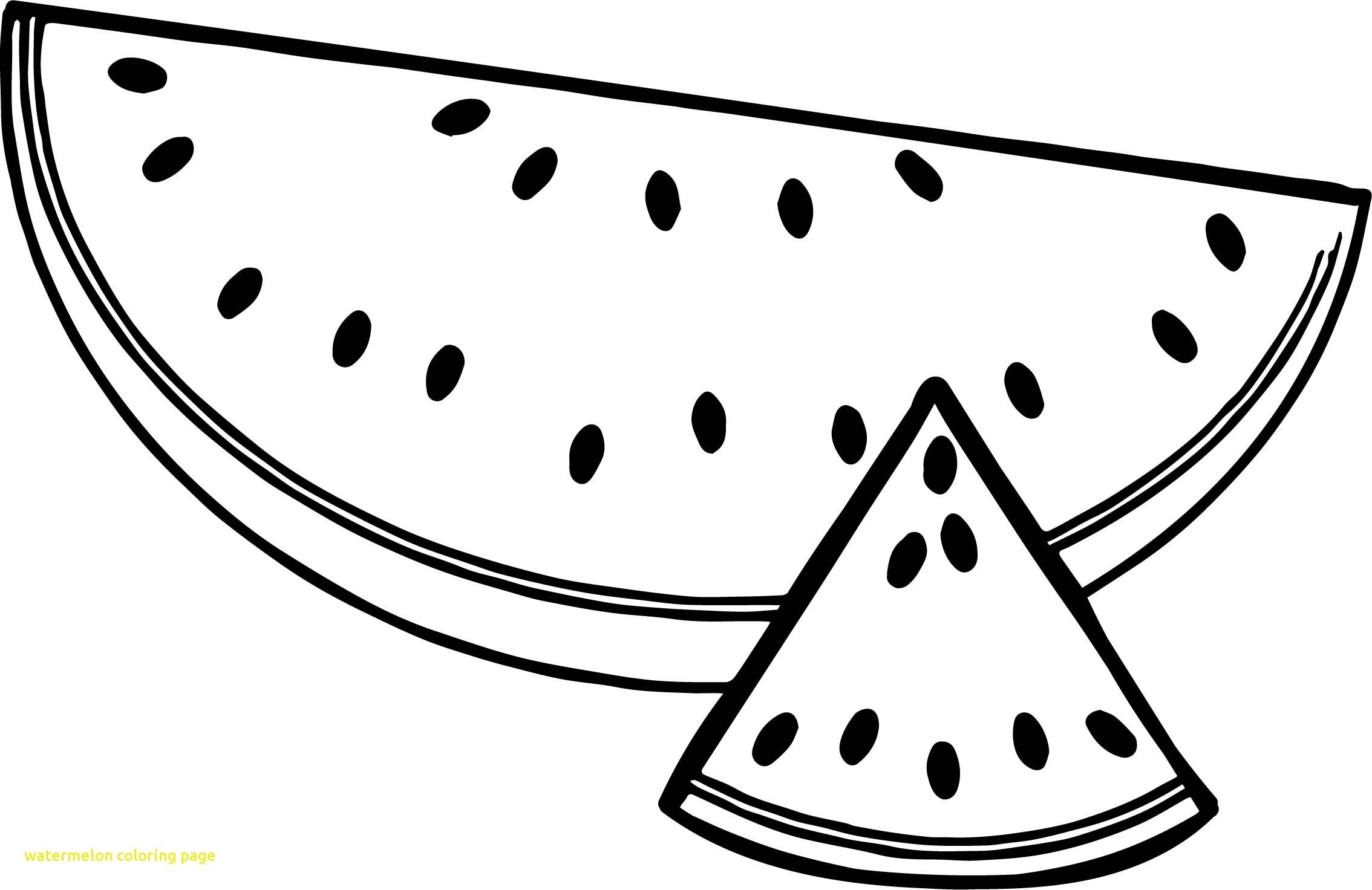 Awesome Watermelons Coloring Pages for Kids