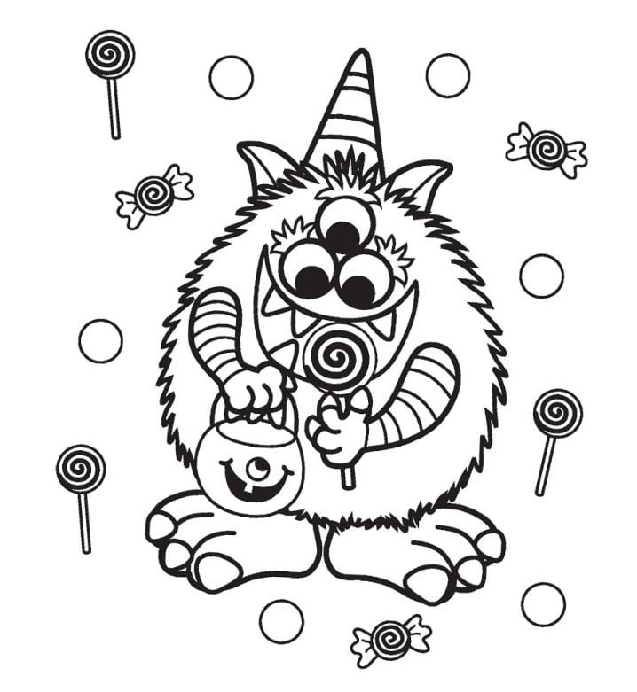 Halloween Coloring Pages Free Coloring Pages Printable