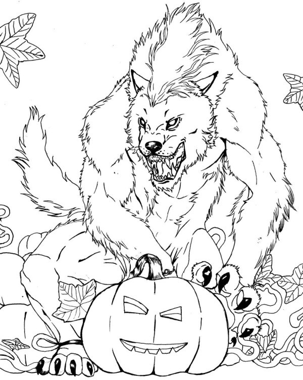 Halloween Scary Coloring Pages Trend Scary Halloween Coloring Pages