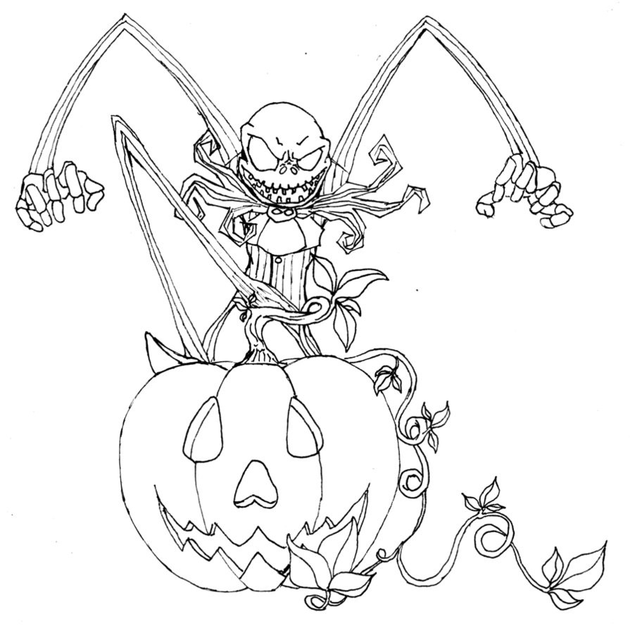 Happy Halloween Coloring Pages free