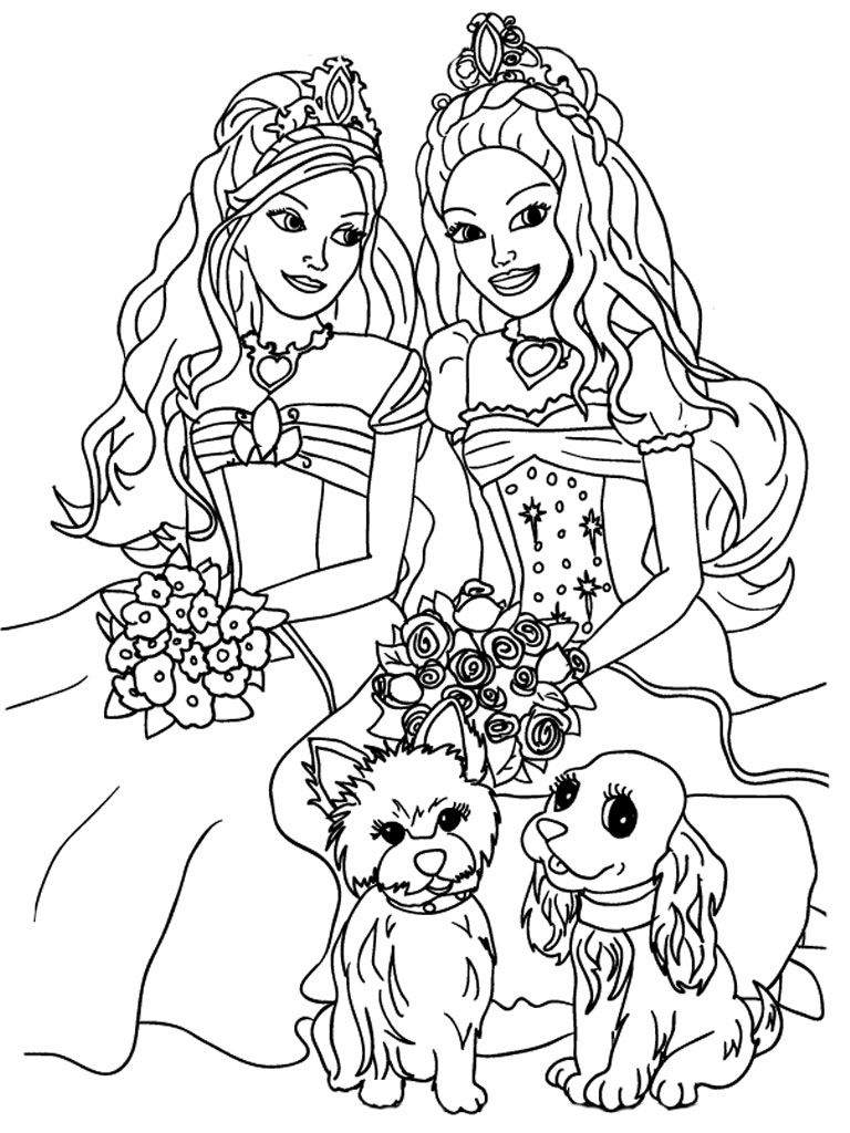 barbie princess coloring pages, Barbie mermaid coloring pages, barbie life in the dreamhouse coloring pages