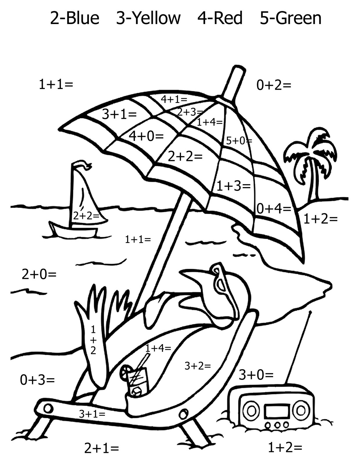 Math Coloring Pages | Free coloring pages printable for kids