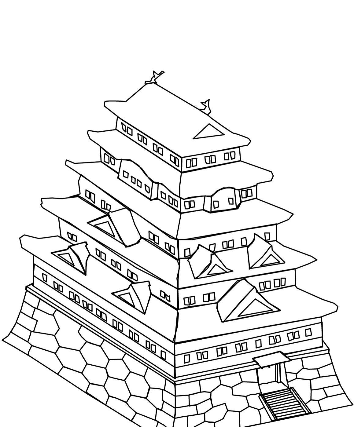 Japanese Girl Coloring Pages Only Coloring Pages