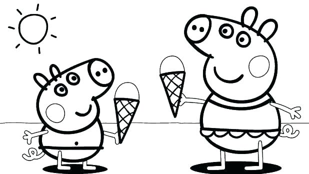 Coloring Pages For 3 Year Olds Cartoon