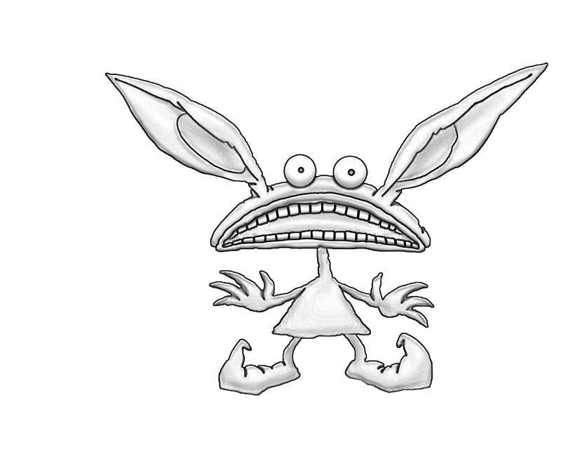 Ahh Real Monsters Coloring Pages For Kids Free Coloring