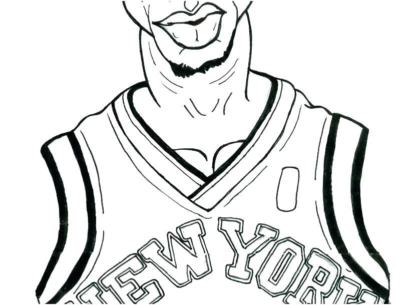 nba coloring pages head