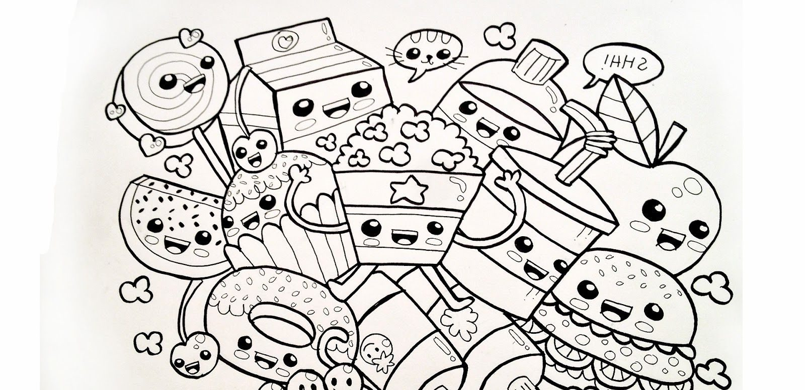 Kawaii Coloring Pages | Free coloring pages printable for ...