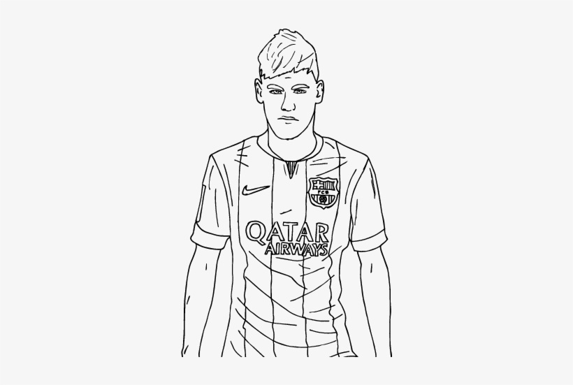 Neymar Hd Coloring Pages Free Coloring Pages Printable