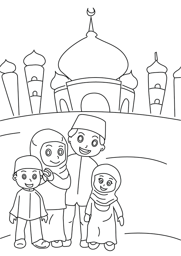 Top 10 Ramadan Coloring Pages