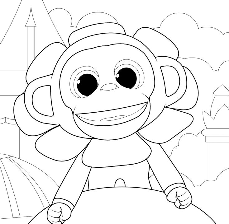 printable Wonder Park Coloring Pages - Best Coloring Pages For Kids for adults