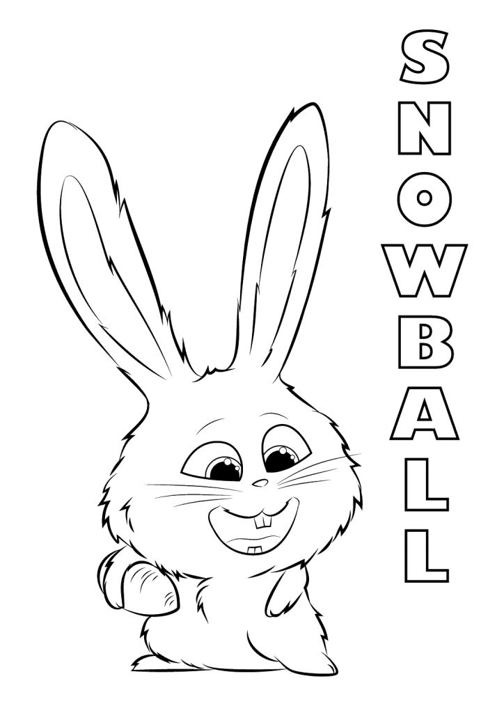 free The Secret Life of Pets Coloring Pages - Best Coloring Pages... for girls