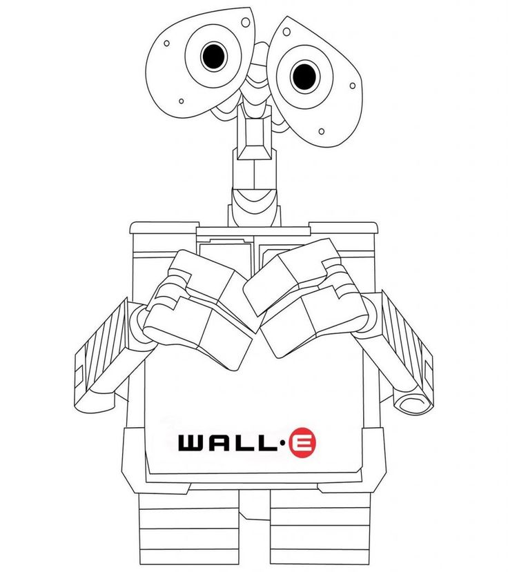 free WALL-E Coloring Pages - Best Coloring Pages For Kids for sunday school