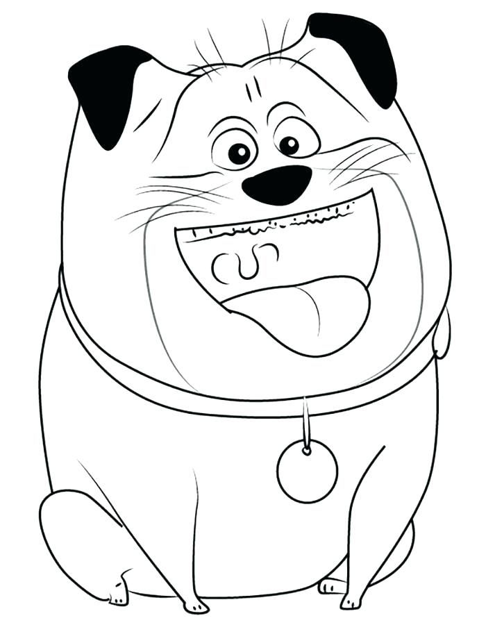 to print out The Secret Life of Pets Coloring Pages - Best Coloring Pages... already colored