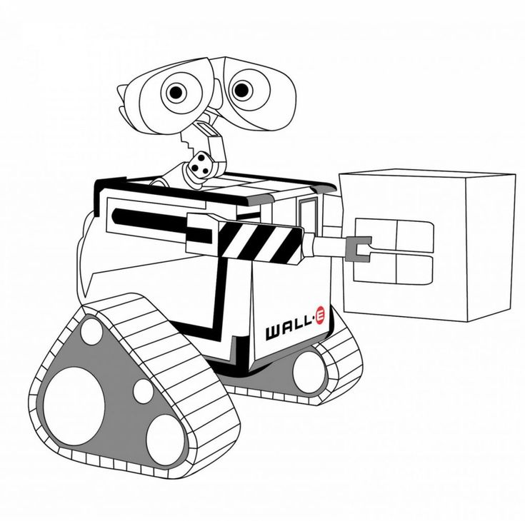 free printable WALL-E Coloring Pages - Best Coloring Pages For Kids for boys